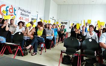 2éme congrès du syndicat protection sociale  Loire-Atlantique-Vendée