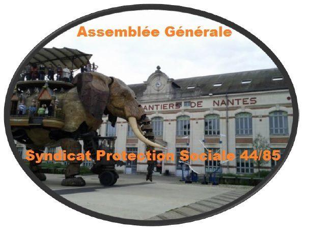 21 juin 2018 : Assemblée Générale du Syndicat Protection Sociale Loire-Atlantique Vendée